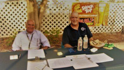 Jeff Rosanswank and Alan Messarra