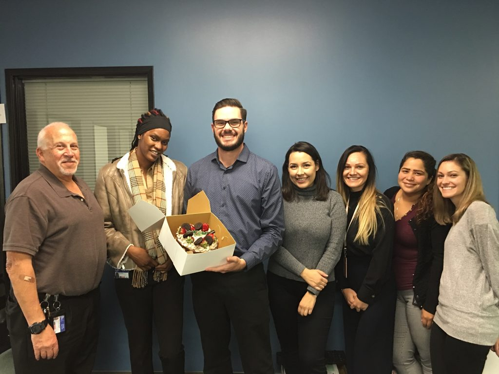 San Bernardino County Public Defender social workers pose in the office.