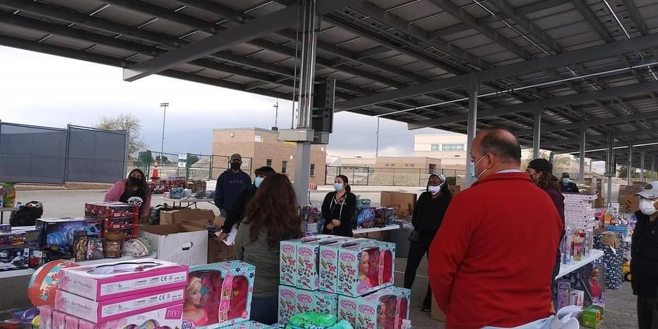 Sistas Making a Difference 2020 Toy Drive